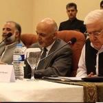 Aftab ahmad khan sherpao with afghan president